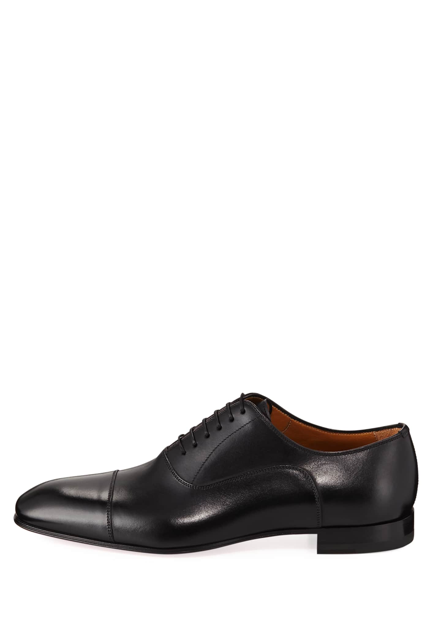 Image 3 of 3: Greggo Men's Lace-Up Leather Dress Shoes