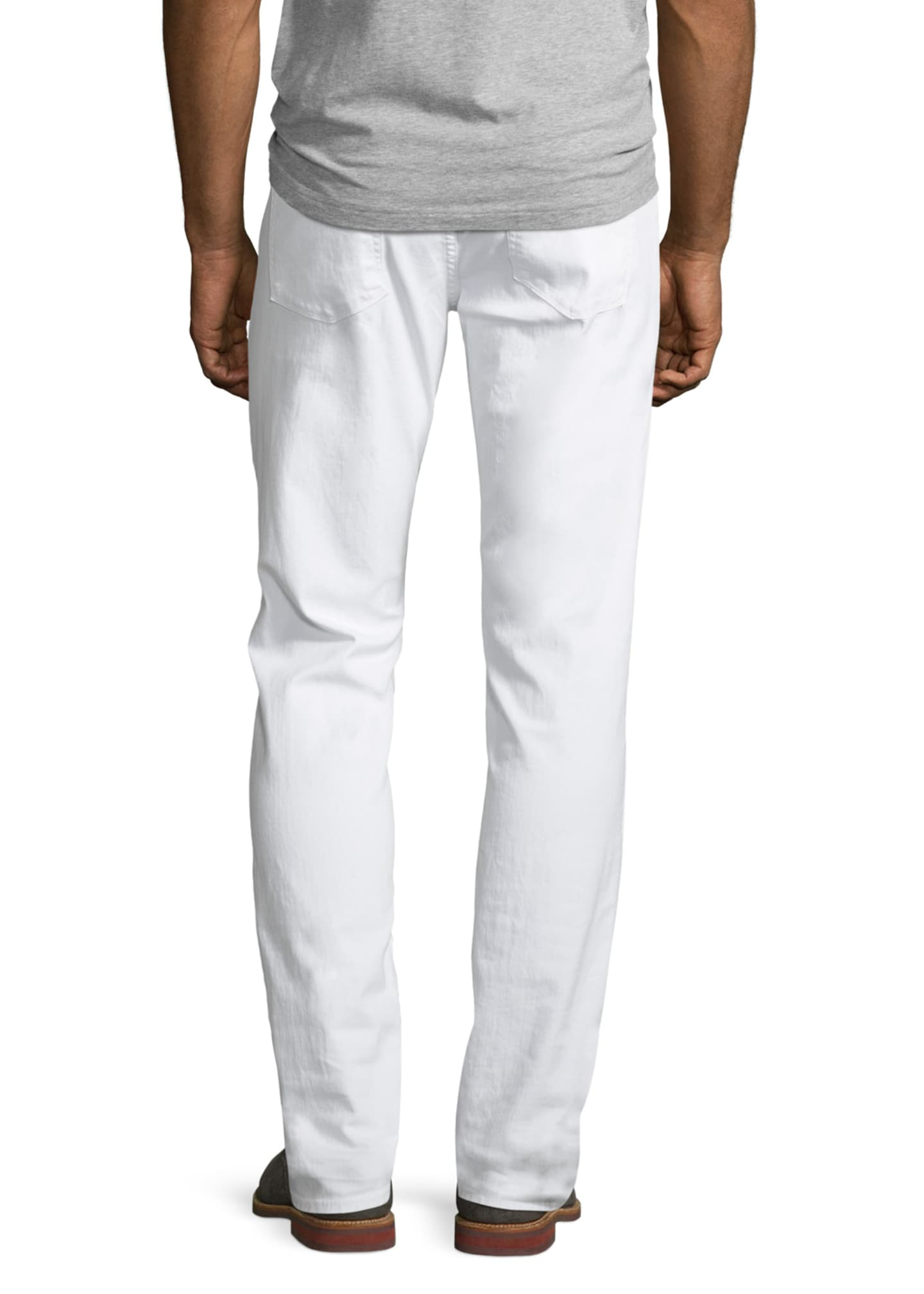 Image 2 of 5: Tyler Deconstructed Slim Jeans, White