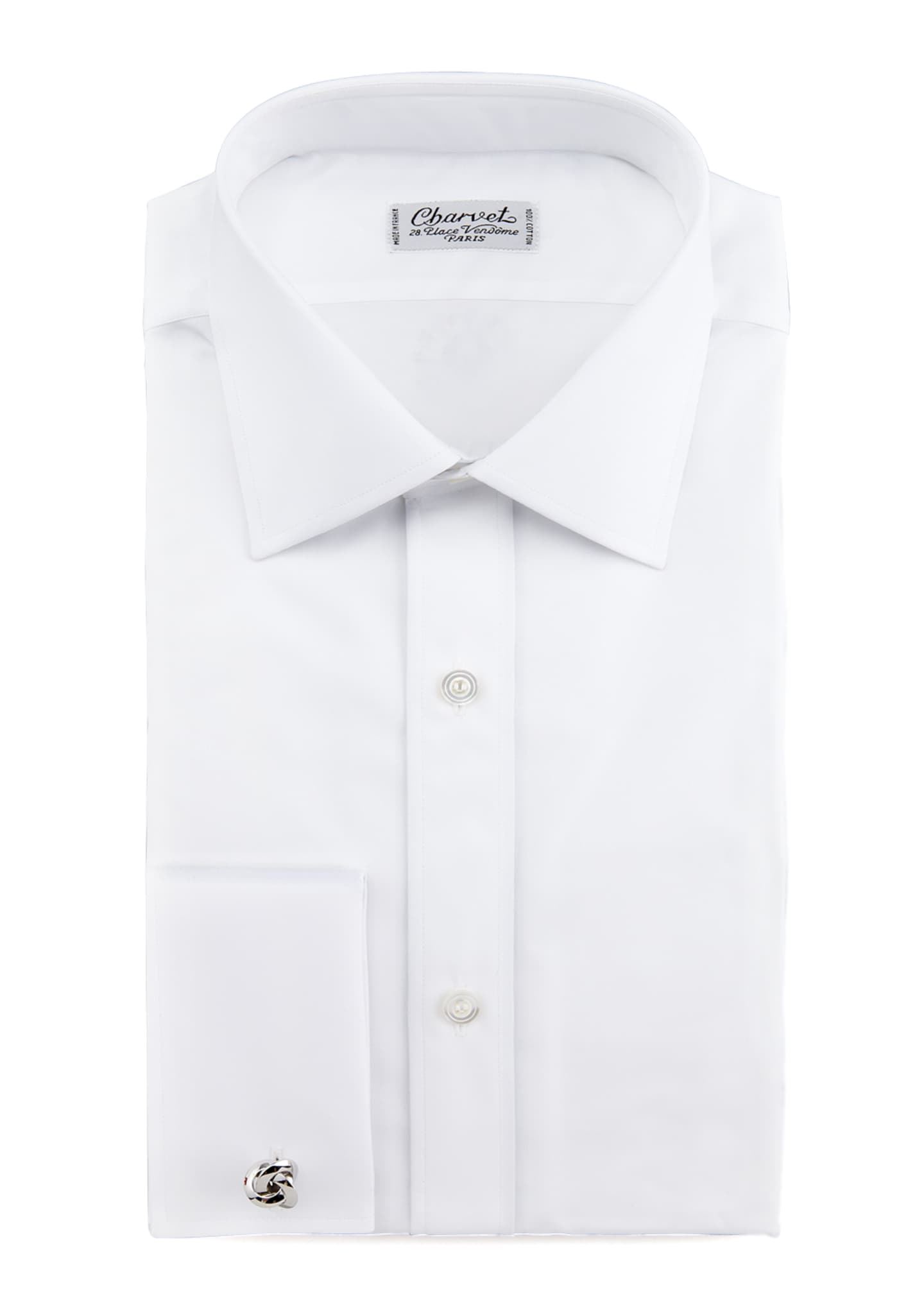 Charvet French-Cuff Dress Shirt