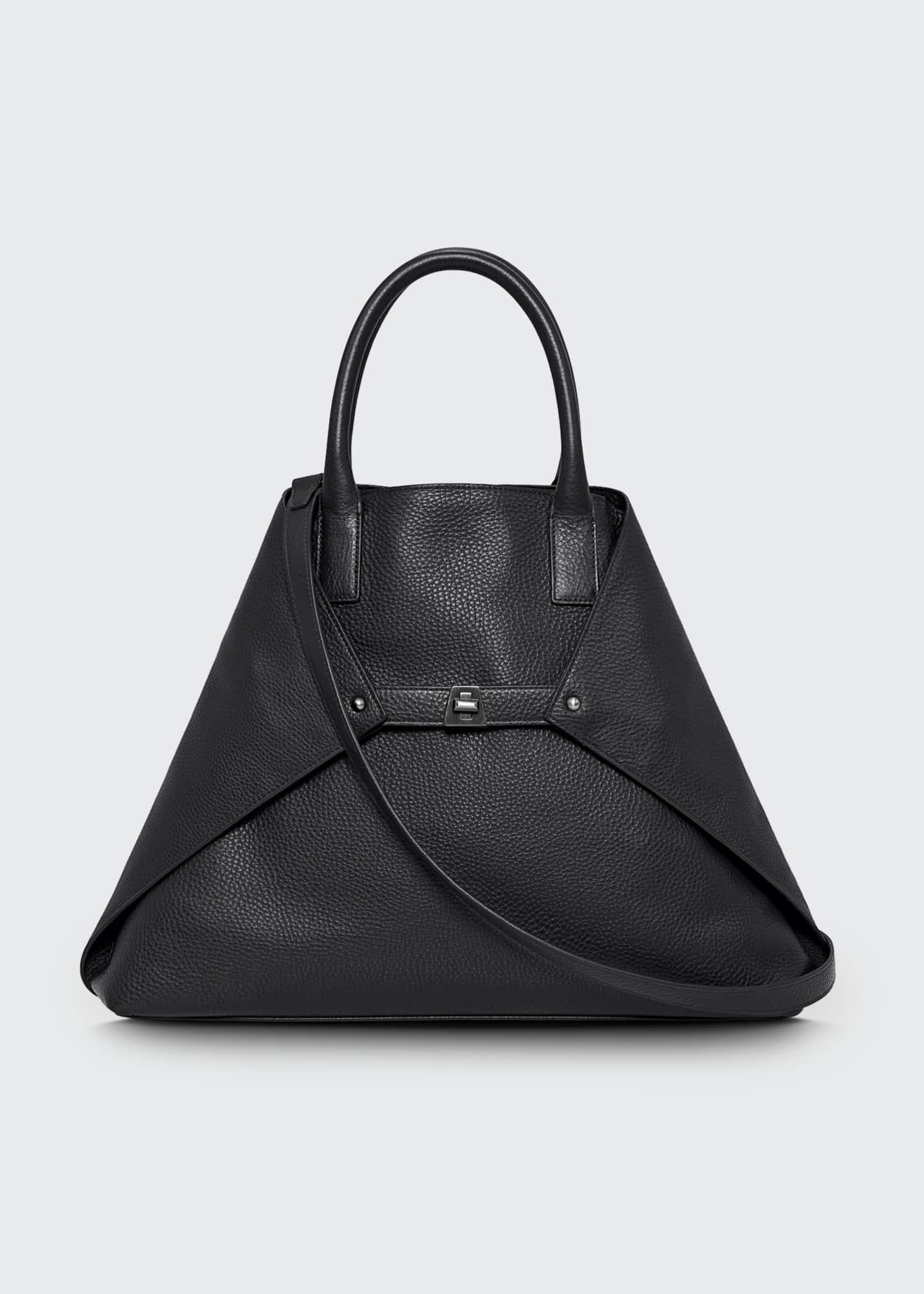 Akris Ai Cervo Medium Shopper Tote Bag