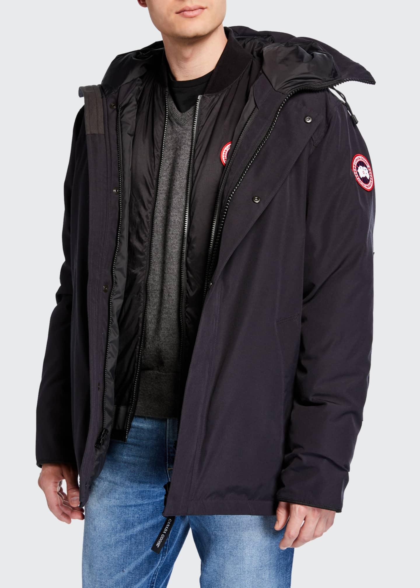 Canada Goose Men's Garibaldi 3-in-1 Parka Coat