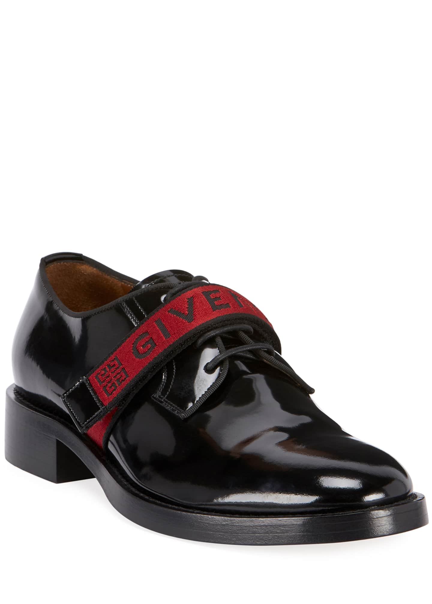 Givenchy Men's Cruz Derby Shoes in Leather