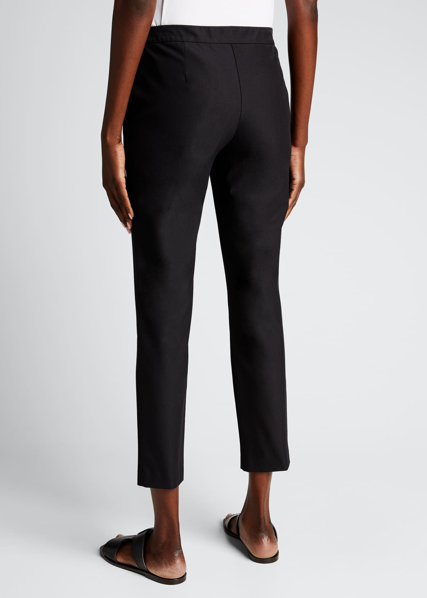 Image 2 of 4: Thaniel Approach Cropped Slim Pants, Black