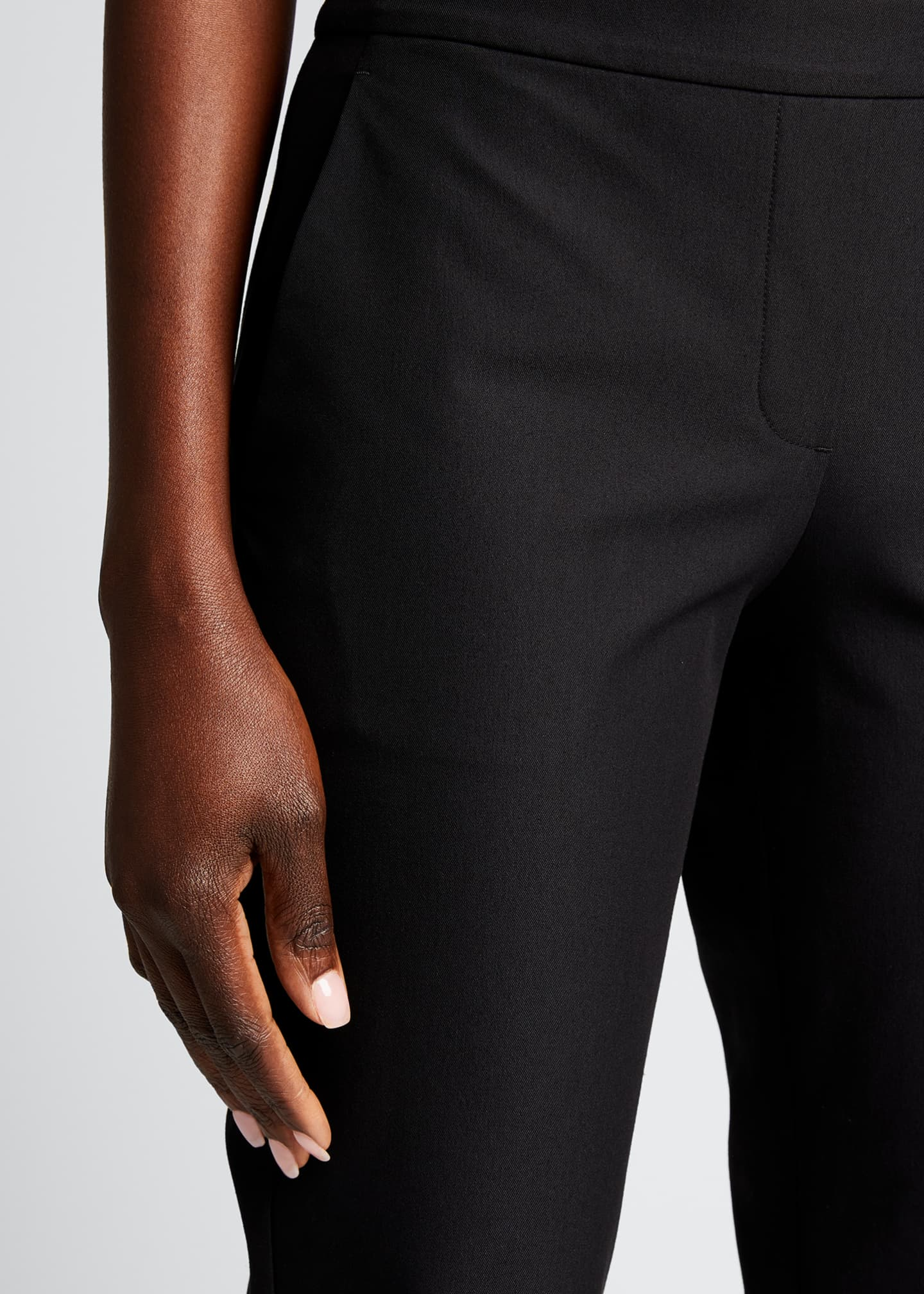 Image 4 of 4: Thaniel Approach Cropped Slim Pants, Black